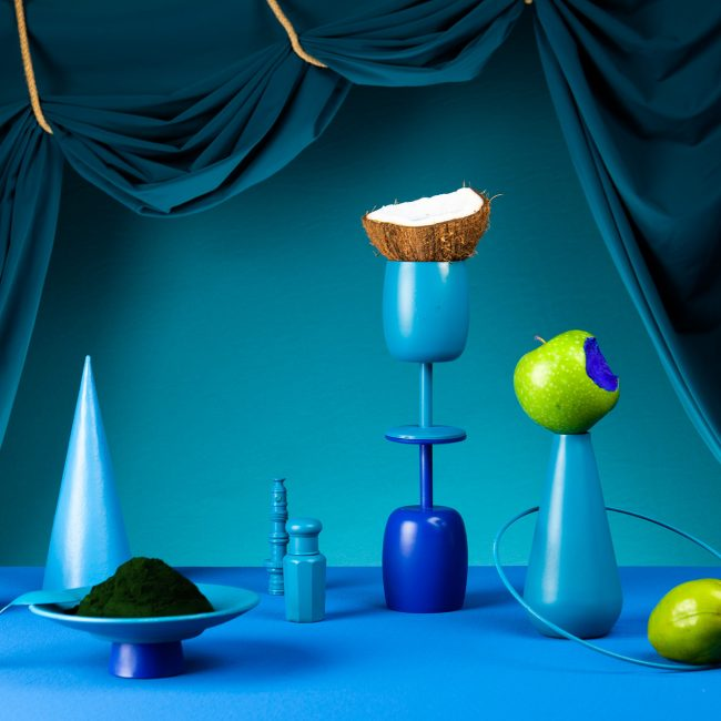 Definitely Blue Café Helen Sirp Art Direction Set Design