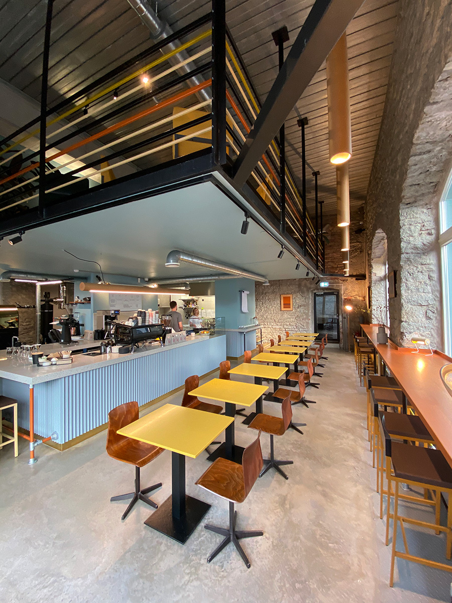 Helen Sirp Interior Design Paper Mill Coffee