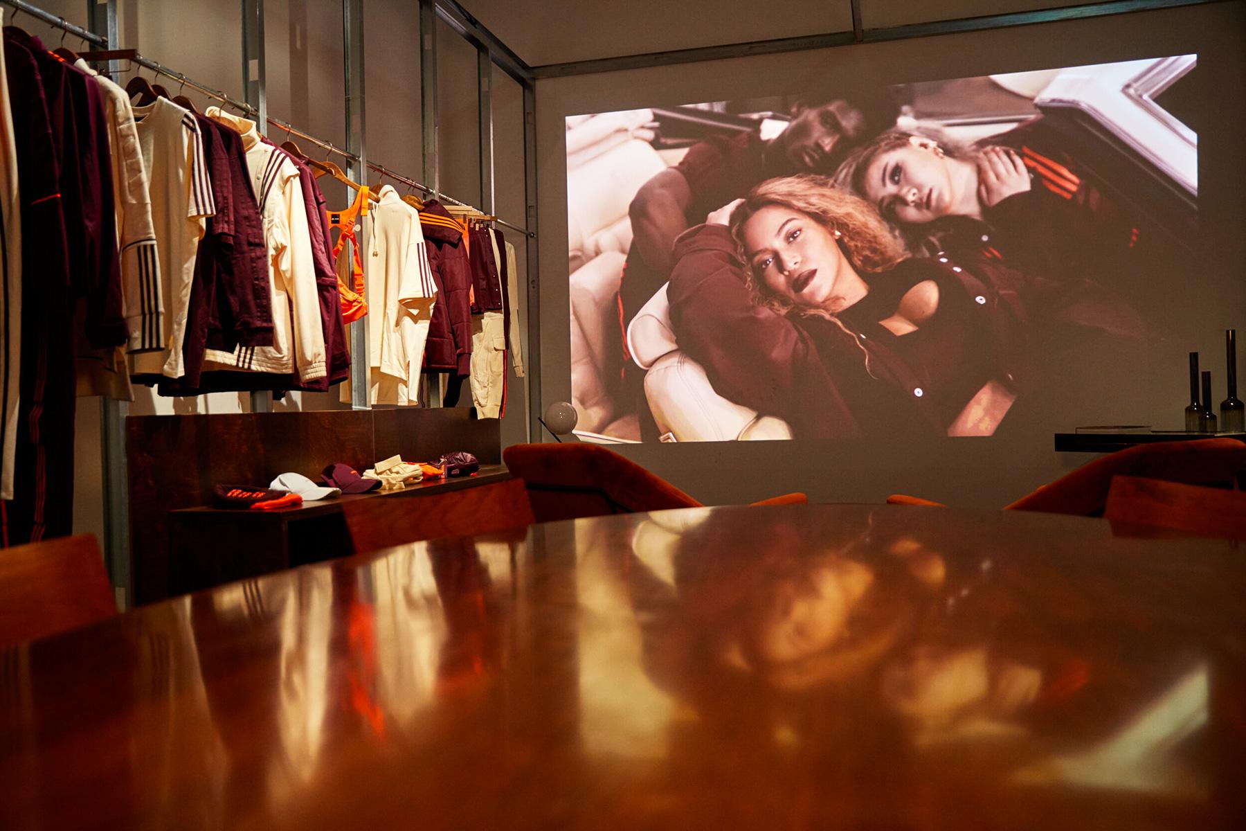 Helen Sirp Interior Styling Adidas Paris